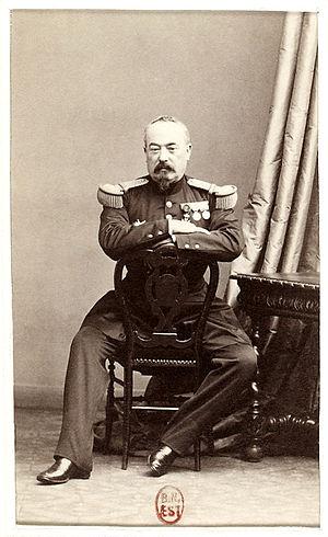 François Achille Bazaine - Francois Achille Bazaine in 1860.