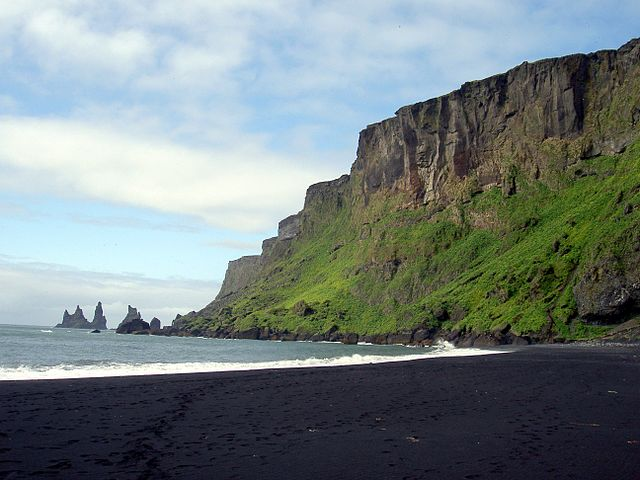 Beach at Vik