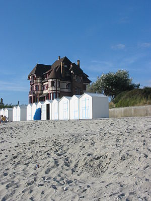 Le Crotoy - Beach huts at Le Crotoy