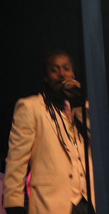 Beanie Man preforming at Portmore Awards, 2007