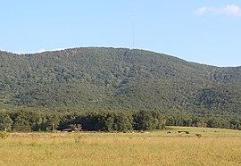 Bear Mountain, Cherokee County, Georgia in August 2015.jpg