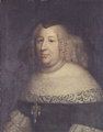Beaubrun Charles, circle of - Anne of Austria in a black dress.png
