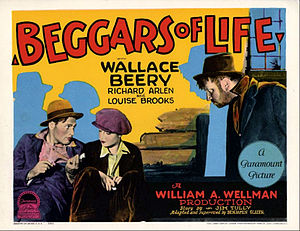 Beggars of Life - 1928 lobby card