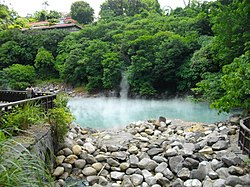 Hot Spring Valley in Beitou
