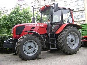 Economy of Belarus - A Belarus tractor