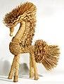 Belarusian folk art - Horse made of straw - XIXth cent - Museum of Belarusian Folk Art.jpg