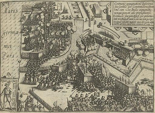 Beleg van Oostende bestorming van de vesting op 7 januari 1602
