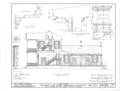 Belmont, U.S. Highway 43, Spring Valley, Colbert County, AL HABS ALA,17-SPRIVA.V,1- (sheet 9 of 13).png