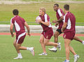 Ben Hannant and Petero Civoniceva (25 June 2009, Cairns).jpg