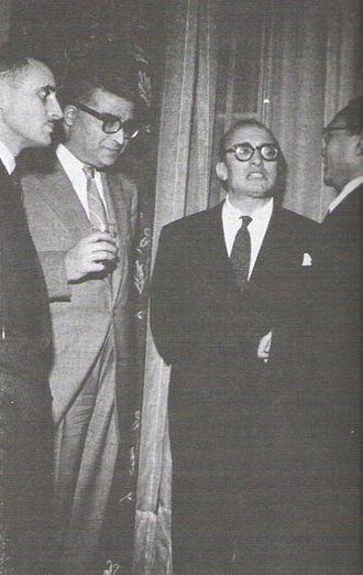 Tunisian independence - Tunisian delegation to the UN, 1952