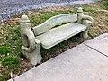 Bench, Everett Street, Bryson City, NC (46595309192).jpg