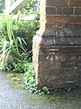 Benchmark on buttress of Summertown United Reformed Church - geograph.org.uk - 2016873.jpg