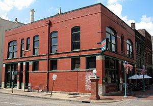 Bender's Restaurant - Front and eastern side
