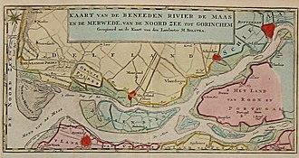 Rozenburg - Image: Beneeden rivier de Maas