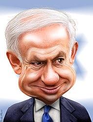 Benjamin Netanyahu - Caricature (6195602848).jpg
