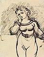 Benjamin Robert Haydon - Figure Study of a Woman - B1977.14.2595 - Yale Center for British Art.jpg