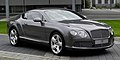 Bentley Continental GT (II) – Frontansicht (3), 30. August 2011, Düsseldorf.jpg