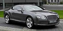 Bentley Continental GT (II) – Frontansicht (3), 30. August 2011, Düsseldorf.jpg