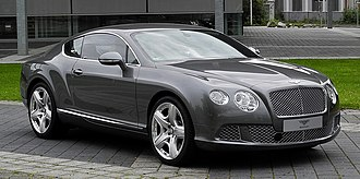 Bentley Continental - Image: Bentley Continental GT (II) – Frontansicht (3), 30. August 2011, Düsseldorf