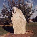 Ber Borochov statue at Kibbutz Mishmar Hanegev.jpg