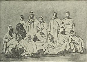 History of the Jews in Africa - Berber Jews of the Atlas Mountains, c. 1900