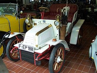Theodor Bergmann - Bergmann-Wagen 1901