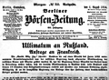 Berliner boersenzeitung no355 1 aug 1914.png