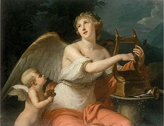 Bernard d'Agesci - The Muse Erato (1785/6)