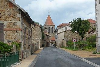 Bertignat - Entering the village