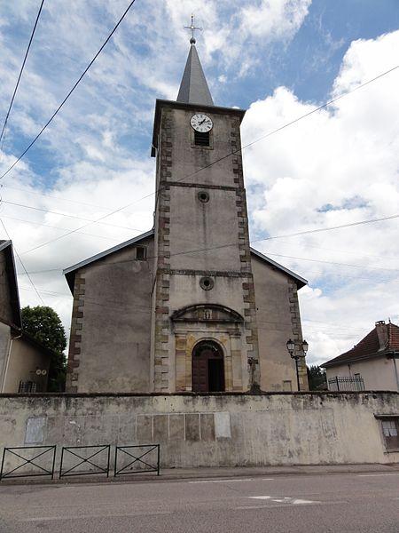 Bertrichamps (M-et-M) église Saint-Jean-Baptiste
