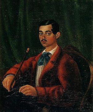 Alexander Bestuzhev - Portrait by unknown artist