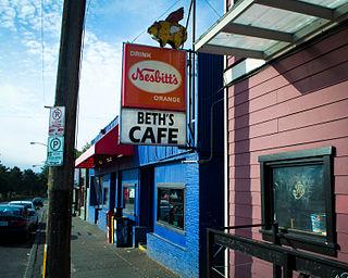 Beths Cafe restaurant in Seattle, Washington