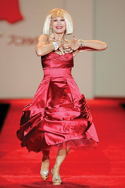 File:Betsey Johnson, Red Dress Collection 2007.jpg
