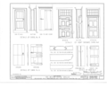 Bevier-Elting House, Hugenot Street and Broadhead Avenue, New Paltz, Ulster County, NY HABS NY,56-NEWP,2- (sheet 10 of 11).png