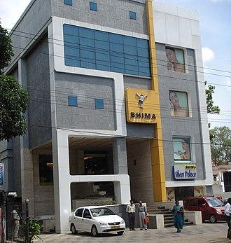 Kollam Cantonment - Bhima Jewellers situated at Kollam Cantonment area