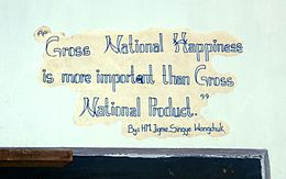 Gross National Happiness - Wikipedia