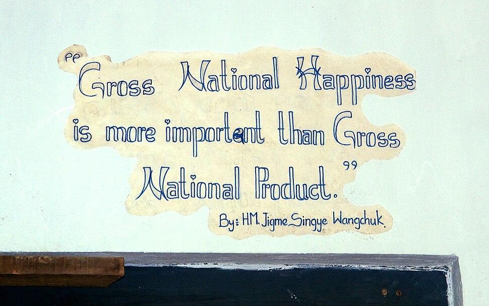 Bhutan Gross National Happiness