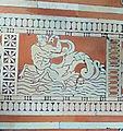 Biblioteca laurenziana, sala lettura, pavimento, 03, tritone.jpg