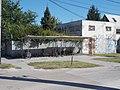 Bicycle shelter and a industrial building, Jókai Mór utca, 2019 Dunaharaszti.jpg