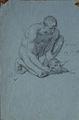 Bida A. - Pencil - Adam ( étudepour la mort d'Abel) - 16x24.3cm.jpg