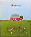 Big Red Barn (10) illustrated Felicia Bond and written by Margaret Wise Brown.JPG