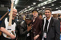 Bill Dickens and others - 2014 NAMM Show.jpg