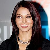 Bipasha Basu smiles for the camera