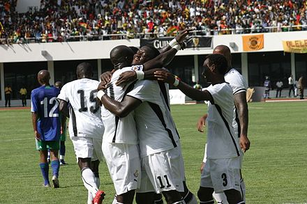 Black Stars goal celebration. Black Stars Goal Celebration (Ghana national football team).jpg