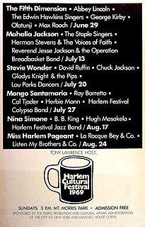 Harlem Cultural Festival Music festival