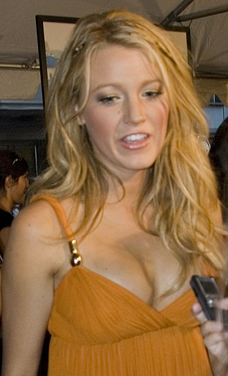 Blake Lively - Lively at the premiere of The Sisterhood of the Traveling Pants 2 on August 3, 2008, in New York City