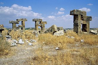 Blaundus - The ruins at Baundos, Turkey