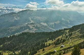 Nature parks in Switzerland - In the UNESCO Entlebuch Biosphere reserve.