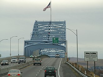U.S. Route 395 in Washington - US 395 crosses the Columbia River between Kennewick and Pasco on the Blue Bridge, named for its blue trusses