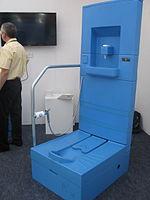 Blue Diversion Toilet Prototype (13359325703).jpg